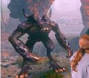 Purple Humanoid Monster