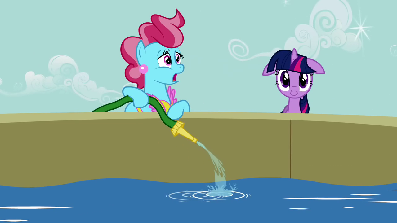 Mr and mrs cake my little pony friendship is magic wiki for Water bra wiki