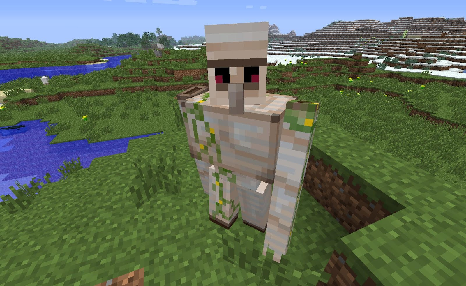 This is stampy and his friends - Minecraft golem de fer ...
