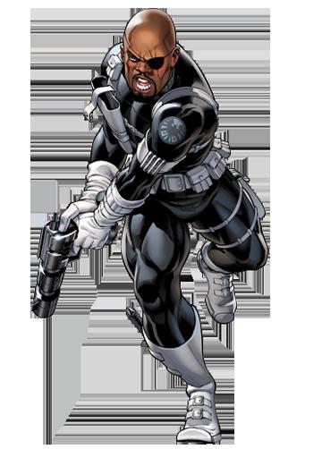 Marvel Xp Dossiers Nick Fury Marvel Avengers Alliance