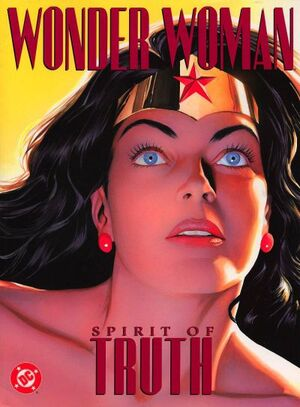 Cover for Wonder Woman: Spirit of Truth (2001)