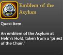 Emblem of the Asylum