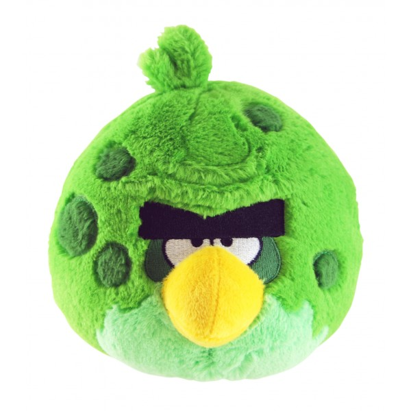Angry Birds Space Toys : File ab plush space green g