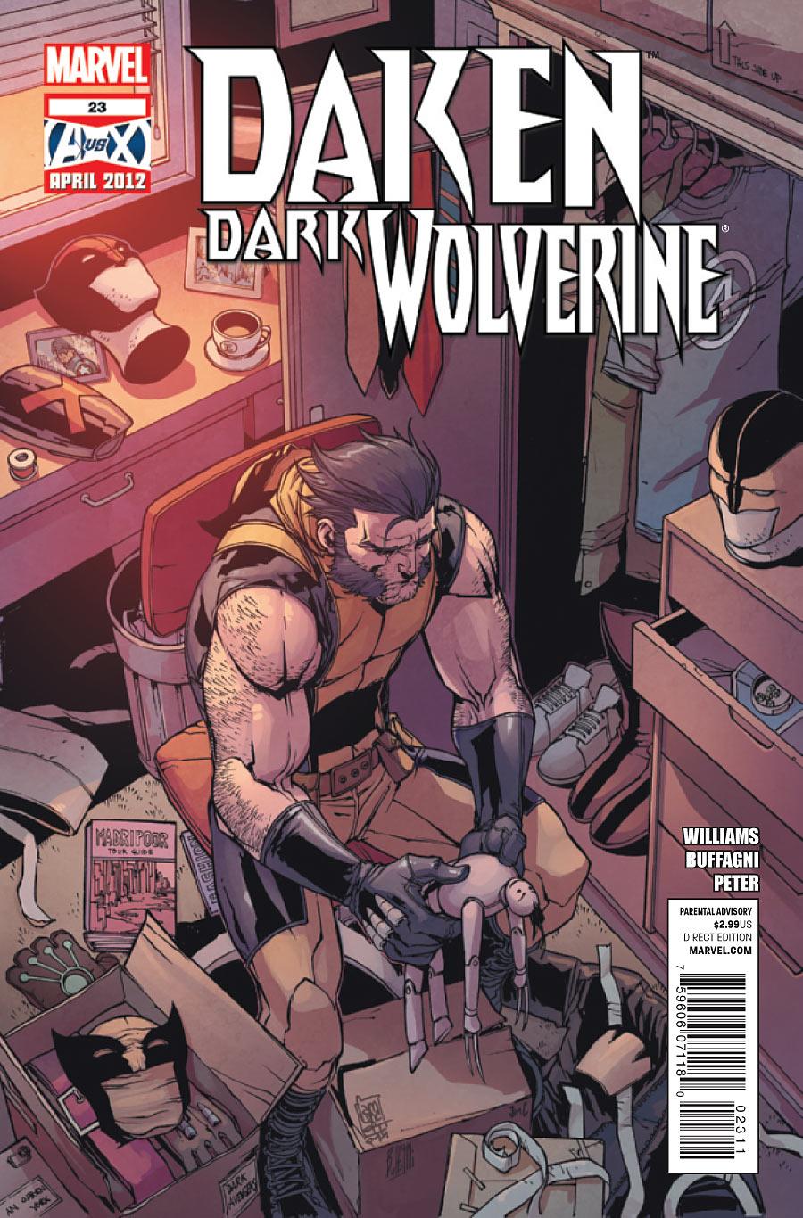 X 23 Daken Daken: Dark Wolverine ...