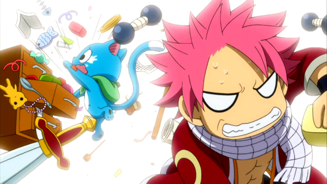 Image natsu and happy desperately look for something png - Fairy tail happy and natsu ...
