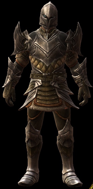 Gaea's Armor Set on a male character