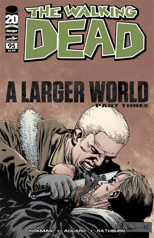 Issue 95 Walking Dead Wiki Wikia
