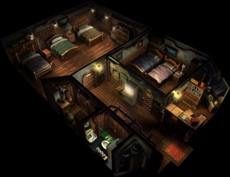 wallmarket ffvii inn. Black Bedroom Furniture Sets. Home Design Ideas
