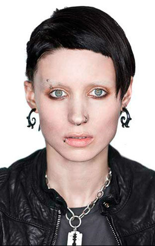 Rooney mara as lisbeth for The girl with the dragon tattoo movie free online