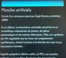 Muscles artificiels
