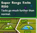 Super Range Tacks