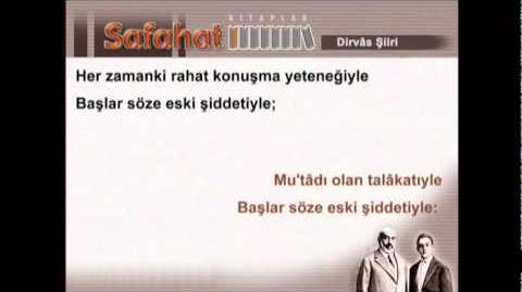 Mehmet Akif Ersoy/Dirvas