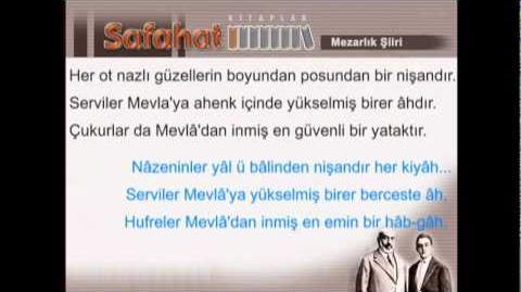 Mezarlık - Mehmet Akif Ersoy - Safahat