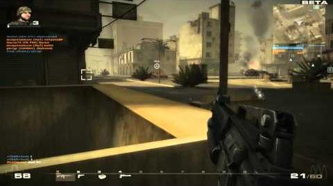Battlefield Play 4 Free Beta Gameplay M16A2 HD 720p