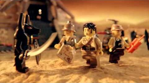 LEGO Pharaoh's Quest Advert