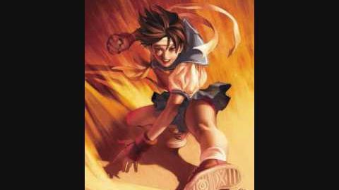 Street Fighter 4 - Sakura's Theme song