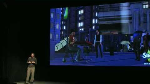 EA Studio Showcase 2010 - The Sims 3 Late Night.avi