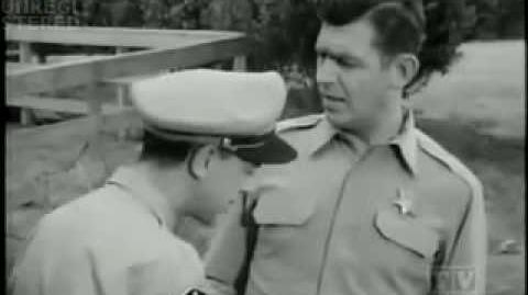 CHRIS PEARSALL-THE ANDY GRIFFITH SHOW BARNEY GETS DRUNK