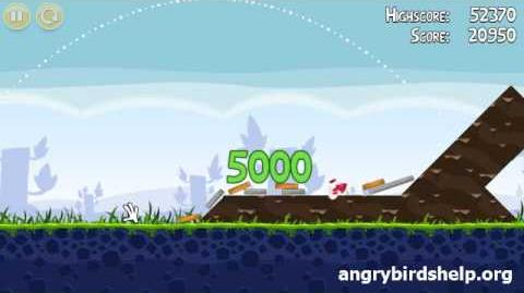 Angry Birds Level 1-2 - 3 Star Walkthrough