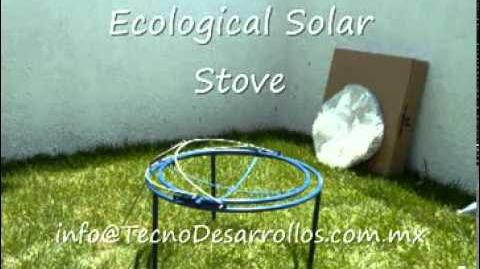 Free Sun Power- Solar Stove for cooking
