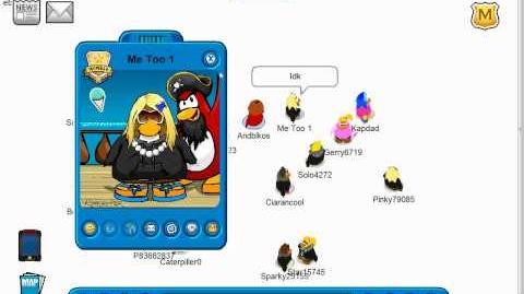 Club Penguin Whiteness glitch