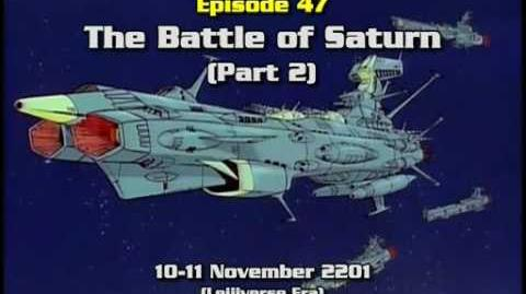 Star Blazers Season 2 The Comet Empire eps 21 part 1 of 3 remastered