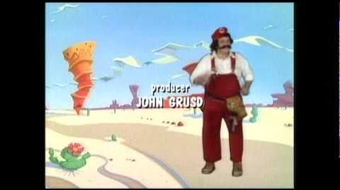 Super Mario Bros Super Show DVD Menu