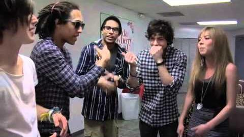 Allstar Weekend raps with Jennette