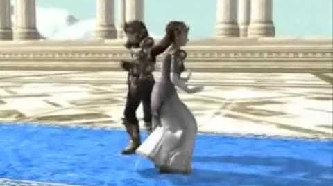Baile Zelda y Chico raro PIM PAM TOMA LACASITOS
