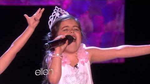 Sophia Grace and Rosie Sing 'Rolling in the Deep'