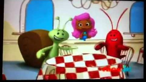 Bubble Guppies Restaurant Song