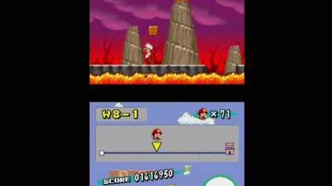 Newer Super Mario Bros. Wii - Level 0-1 Prototype.