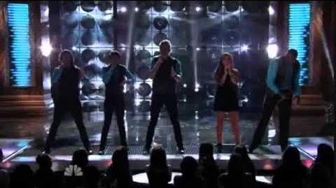 "12th Performance - Pentatonix - ""Dog Days Are Over"" by Florence & The Machines - Sing Off - Series 3"