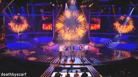 One Direction ~ X Factor Week 1 ~ Viva La Vida (HD)