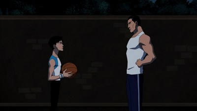 Bruce and Robin Basket... Robin The Boy Wonder Young Justice