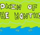 Admin of the month - candidates