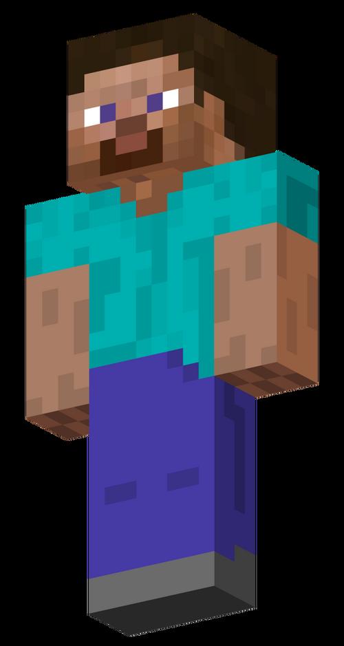 Minecraft Steve Transparent Background Bukalah X