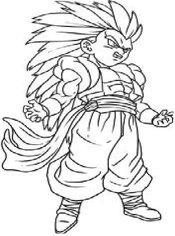 z coloring page  Dragon Ball Z Coloring Pages