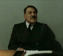 Hitler is informed he's on YouTube