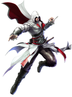 Ezio Soul Calibur5 art