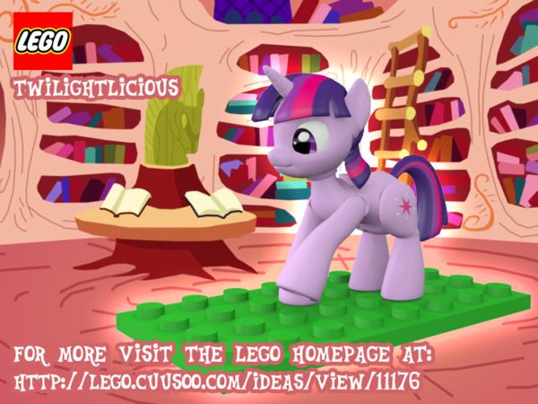 Image MLP LEGO Twilight Sparklepng My Little Pony Fan