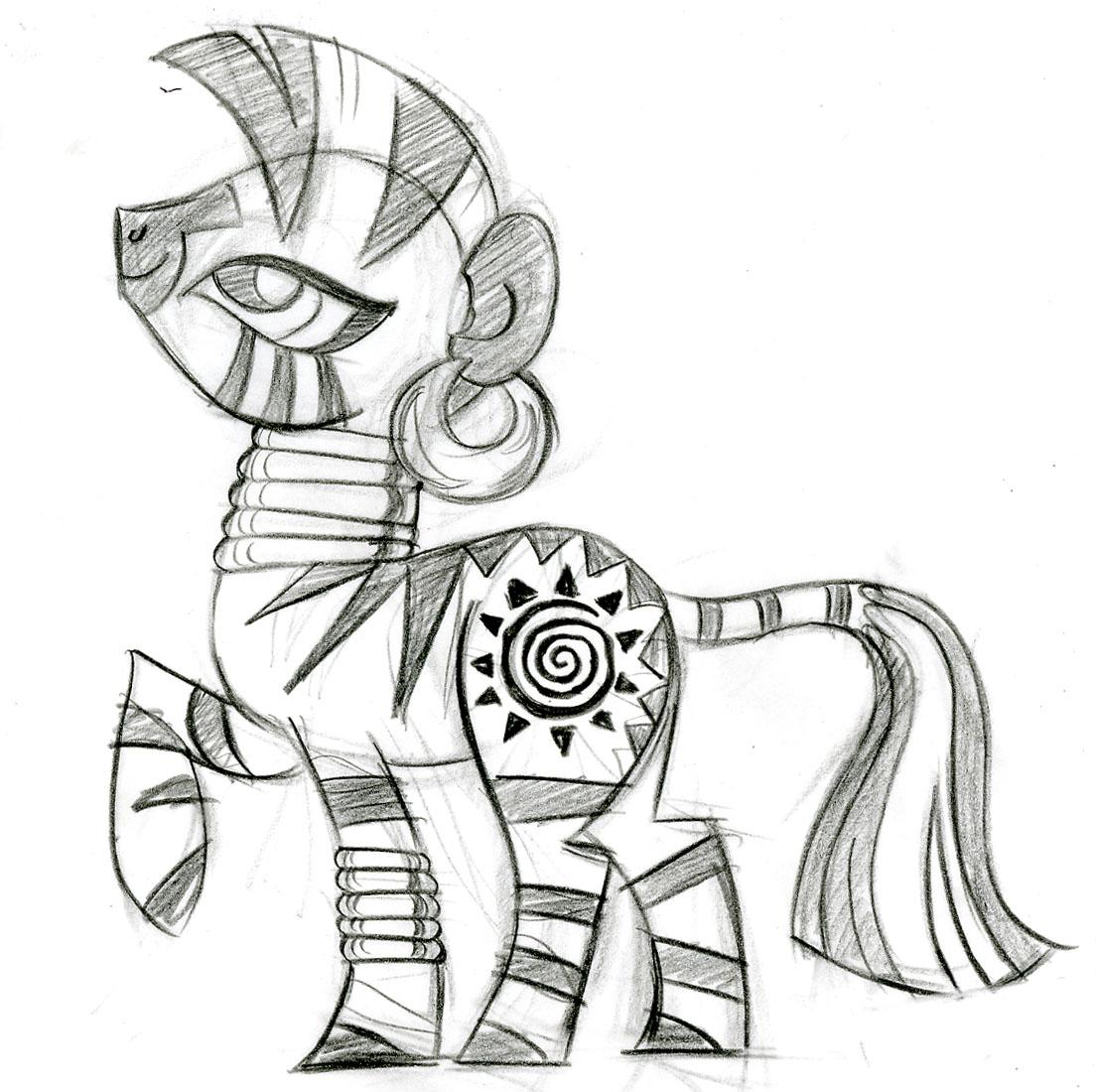 Zecora My Little Pony Friendship