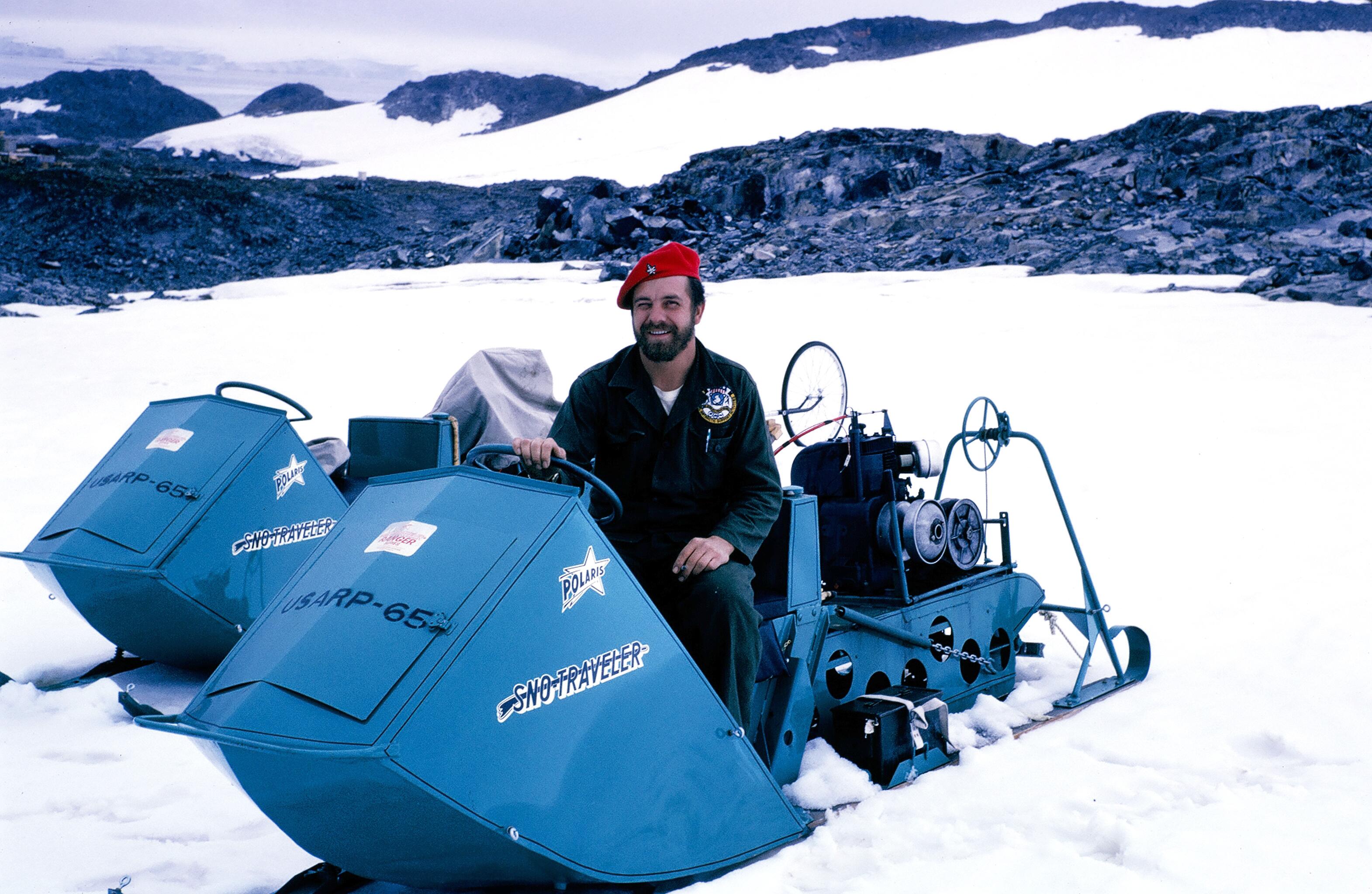 1965 polaris snowmobile vintage