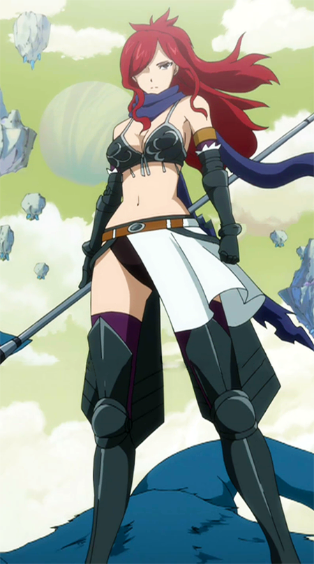 Erza Knightwalker - Fairy Tail Wiki, the site for Hiro ...