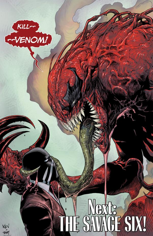 Anti Venom Vs Toxin Brock becomes toxin.