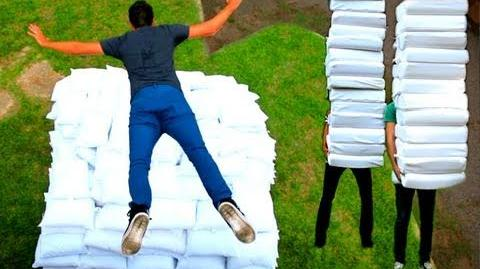 2 Guys 600 Pillows (Backwards Music Video)