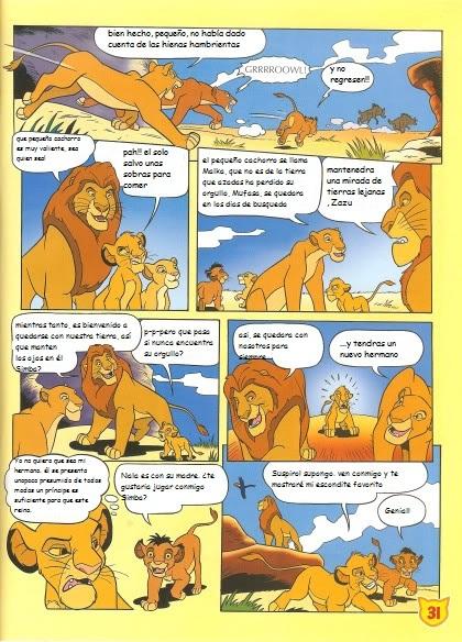El nuevo hermano de Simba (cómic) Snewbrother2