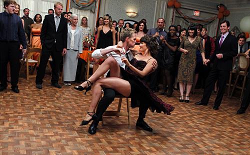 Barney-at-a-wedding