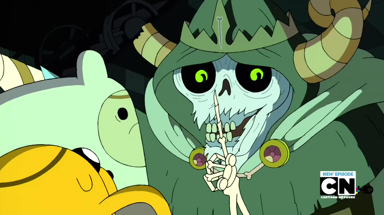 Image S2e24 The Lich Shushing Finn Png The Adventure