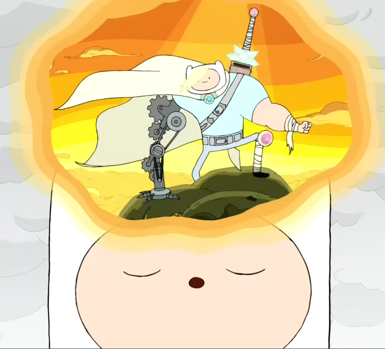 Image S2e24 Finn Meditating Png The Adventure Time